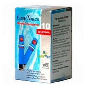 Тест-полоски EasyTouch (Изи Тач) Холестерин № 10