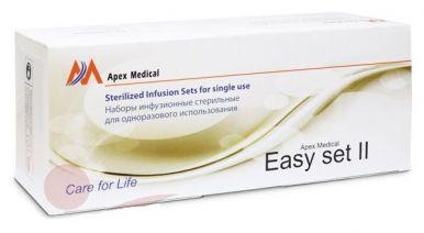 Устройство для инфузии Apex типа Easy Set-II Sterilized Infusion Sets (9мм x 50см)