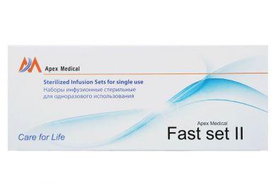 Устройство для инфузии Apex типа Fast Set-II Sterilized Infusion Sets (6мм x 50см)