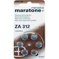 Батарейка А312 для слуховых аппаратов