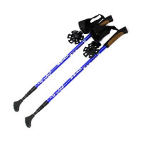 Палки для Скандинавской ходьбы «Star walker» телескопические с тремя насадками