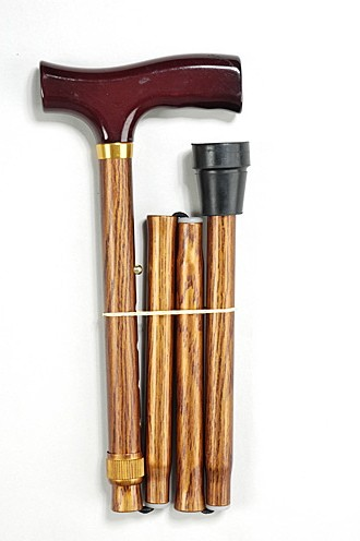 Трость телескопическая 10121/F (цвет под дерево)