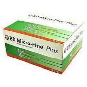 Шприц инсулиновый 0,5 мл BD Micro Fine Plus U100 8,0 мм (10 шт)
