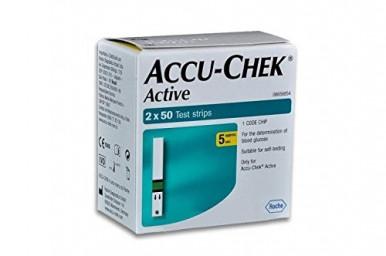 Акку-Чек Актив (Accu-Chek Active) тест-полоски 100 шт