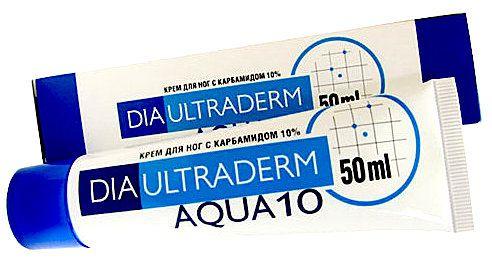Крем ДиаУльтраДерм Аква 10 для ног с мочевиной (карбамидом) (DiaUltraDerm Aqua 10) 50 мл