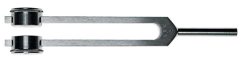 Камертон Riester C-128 из алюм. с гирьками (эндокрин) из алюминия с гирьками (для эндокринолога)
