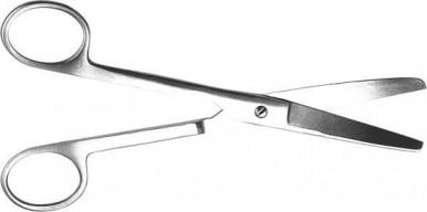 Ножницы тупоконечные прямые 170 мм Н-6 (Пакистан)