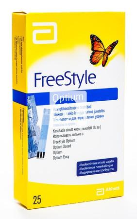 Фристайл Оптиум (Freestyle Optium) тест-полоски 25 шт