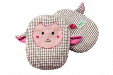 Грелка- игрушка с вишневыми косточками ZERO-99 «Овечка»