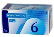 Игла к шприц-ручкам 6 мм Novo Fine (Ново Файн)