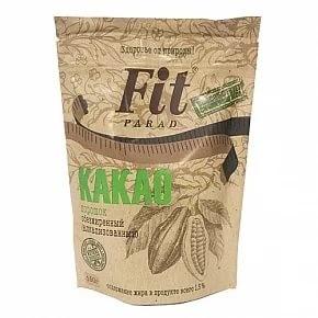 Какао Фит Парад порошок обезжиренный 150 г