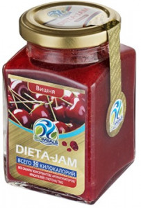 Джем Dieta-Jam (Биомилс) со вкусом вишни на стевии 230 г