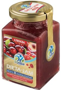 Джем Dieta-Jam (Биомилс) со вкусом клюквы на стевии 230 г