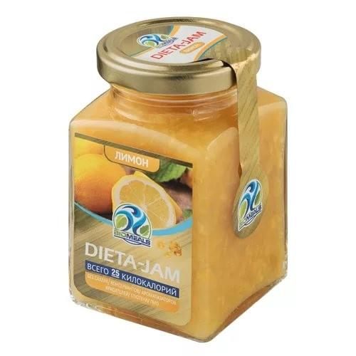 Джем Dieta-Jam (Биомилс) со вкусом лимона на стевии 230 г