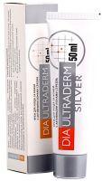 Крем для ног ДиаУльтраДерм Сильвер (DiaUltraDerm Silver) с активными ионами серебра 50 мл