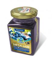 Джем Dieta-Jam (Биомилс) со вкусом черники на стевии 230 г