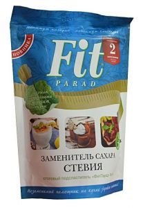 Фит Парад 14 (Fit Parad №14) Сахарозаменитель эритритол/стевиозид (дойпак 200гр)