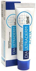 Крем для ног ДиаУльтраДерм Аква 5 с мочевиной (карбамидом) (DiaUltraDerm Aqua 5) 50 мл