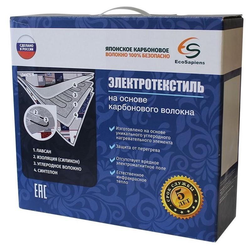 Электропростыня с подогревом EcoSapiens Linen 150х90 см