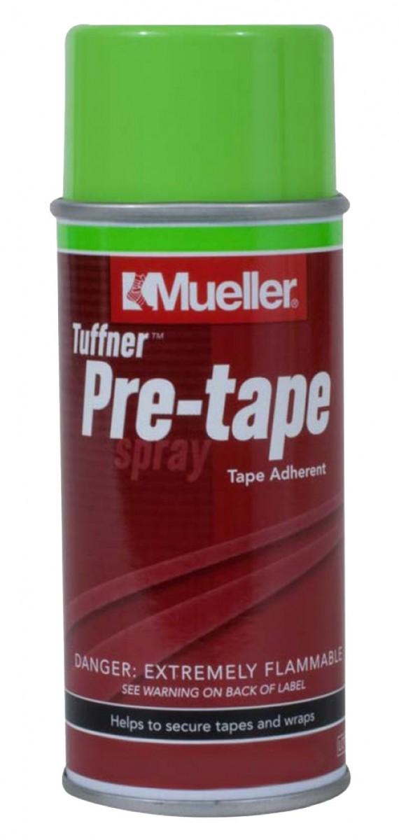 Mueller (Мюллер) Tuffner Pre-Tape Spray - клей с антисептиком для крепления пластырей и тейпов (113гр)