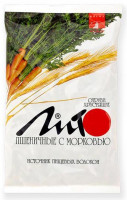Отруби ЛИТО пшеничные с морковью хруст. 200 г