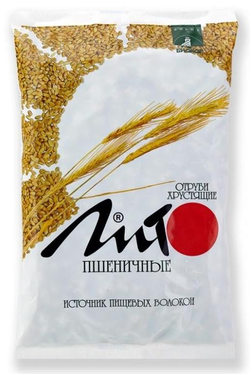 Отруби ЛИТО пшеничные хруст. 200 г