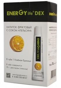 Energy Life DEX вкус апельсина 35 мл уп.=10 шт