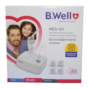Ингалятор B.WELL MED-121 компрессорный