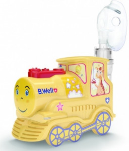 B.Well PRO-115K - ингалятор детский (паровозик)
