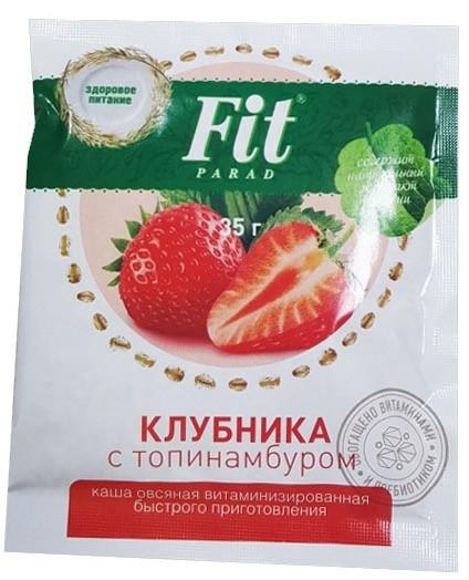 Каша овсяная Фит Парад клубника 35 грамм