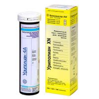 Тест-полоски Уриполиан 4А 50шт (глюкоза/белок/рН/кетоны в моче)