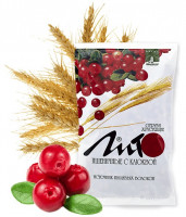 Отруби ЛИТО пшеничные с кальцием и клюквой (200 гр)