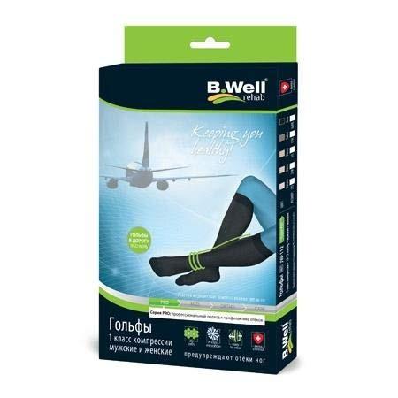 Гольфы компрессионные BWell PRO JW 112 для путешественников (размер 3/M, 1 класс компрессии)