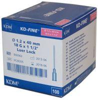 Игла KD-Fine инъекционная 18G (1,2 х 40 мм) стерильная одноразовая