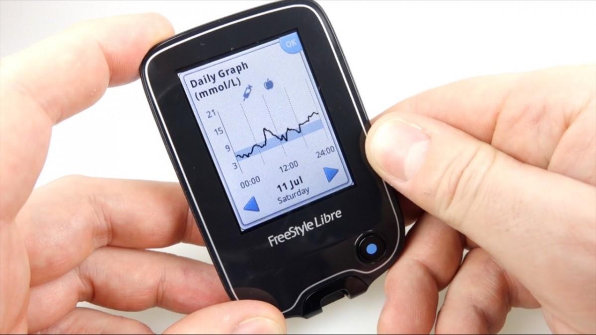 FreeStyle Libre - система непрерывного мониторинга глюкозы