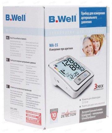 Тонометр автомат B Well WA-55 средняя манжета (без адаптера)