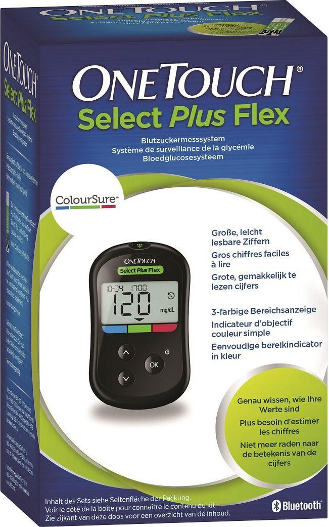 Глюкометр Ван Тач Селект Плюс Флекс (OneTouch Select Plus Flex)