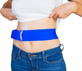 Пояс для инсулиновой помпы INSULA Желтый - размер М 65-85 см