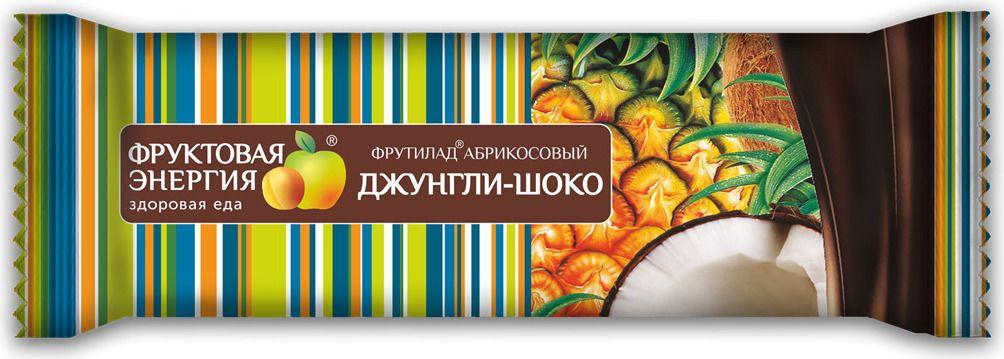 Батончик Фрутилад Джунгли-Шоко в шоколаде 30 г