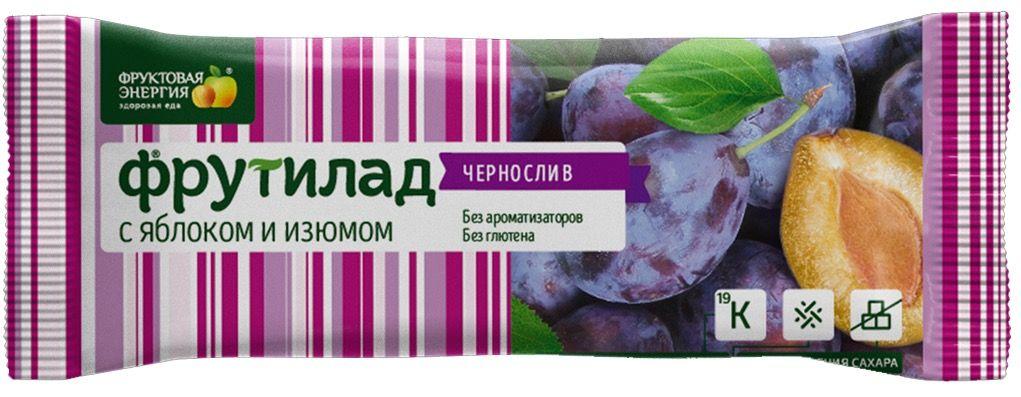 Батончик Фрутилад Чернослив 30 г