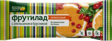 Батончик Фрутилад апельсиновый/брусничный 30 г