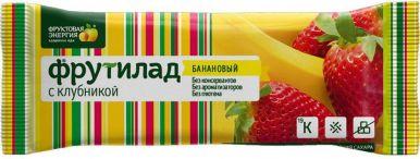 Батончик Фрутилад банановый/клубничный 30 г