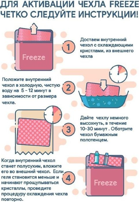 Чехол охлаждающий Freeze Large для инсулина 22 x 17 см (большой)
