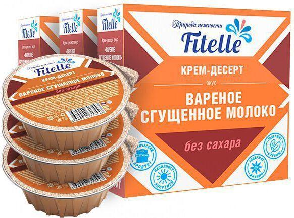 Крем-десерт Fit Parad вареная сгущенка 100 гр