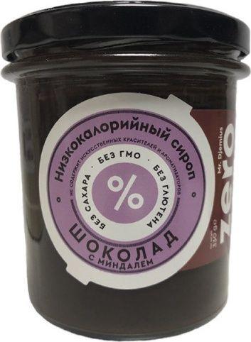 Сироп ZERO шоколадный с миндалем 330мл