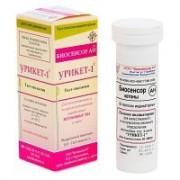 Урикет-1 тест-полоски на кетоны в моче 50 шт