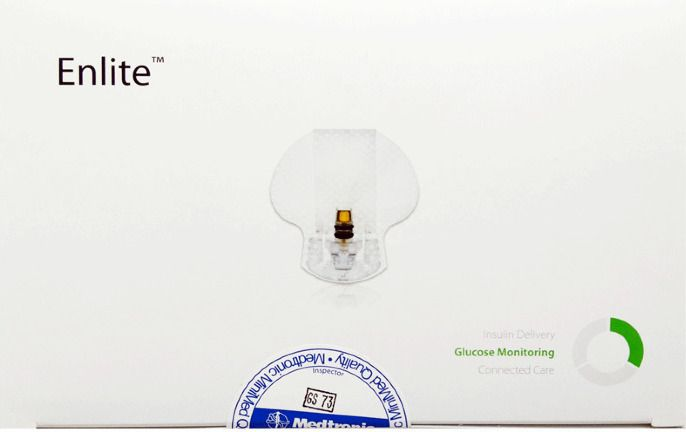 Сенсор глюкозы Медтроник Энлайт ММТ-7008 (Enlite MMT-7008)