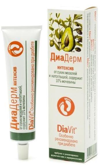 Крем для ног Диадерм Интенсив (DiaDerm) 10% мочевины 75 мл