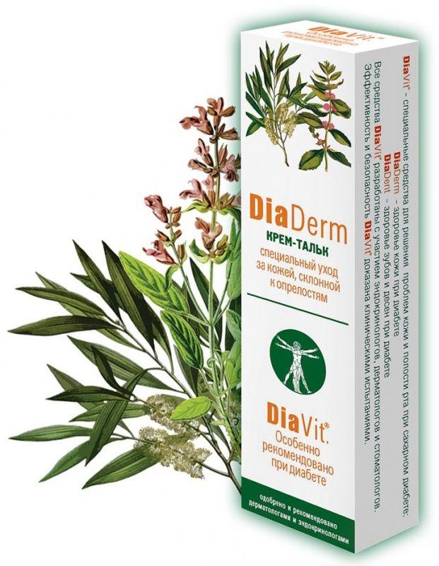Крем-тальк для тела Диадерм (DiaDerm) 75 мл