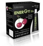 Сироп Energy Life (Энерджи Лайф) вишня 1ХЕ (10 шт)